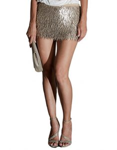 Luz De Ibiza Gold-Sequin-Fringe-Mini-Skirt-1-235x300 Are you ready to wear sequins? Dos and Dont´s for this season Spring Collection  spring fashion spring 2017 looks fashion dos and dont´s