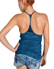 Royal Blue Sequin Racerback Top