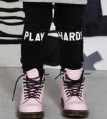 PLAY HARD! track pants