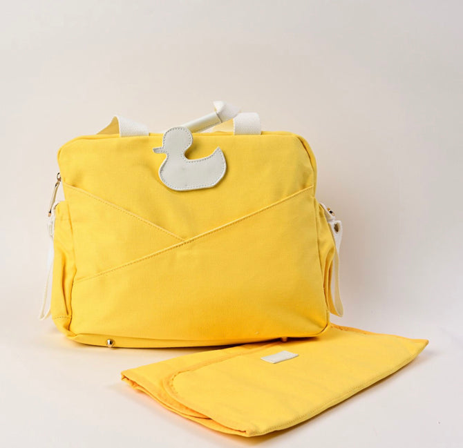 Yellow Duck- Diaper Bag