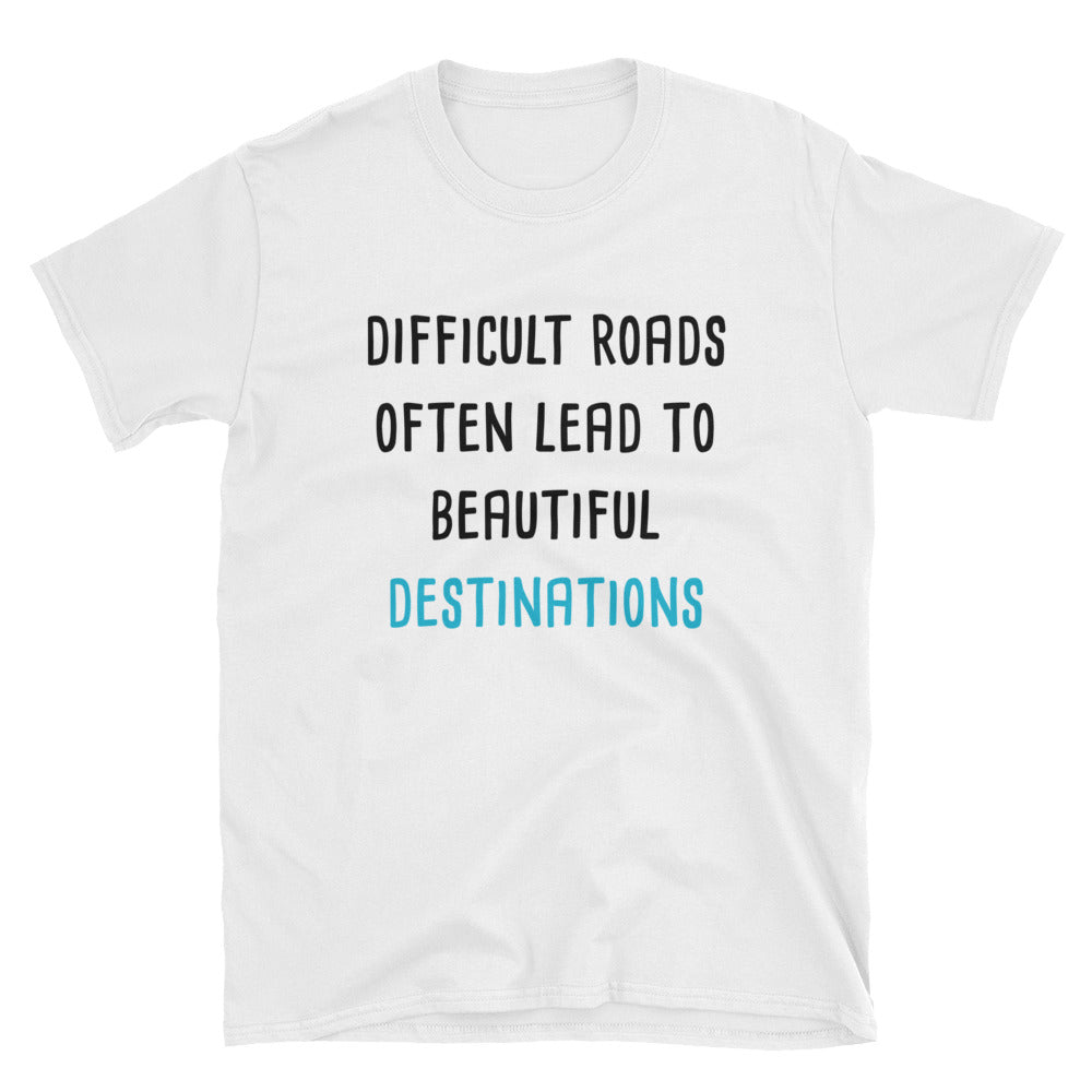 Beautiful Destinations Short-Sleeve T-Shirt Life/ Beauty/ Path