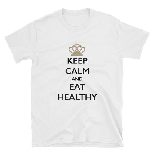 Keep Calm and Eat Healthy Short-Sleeve T-Shirt