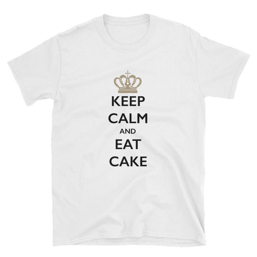 Keep Calm and Eat Cake Short-Sleeve T-Shirt
