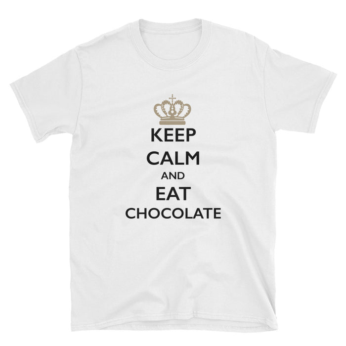 Keep Calm and Eat Chocolate Short-Sleeve T-Shirt