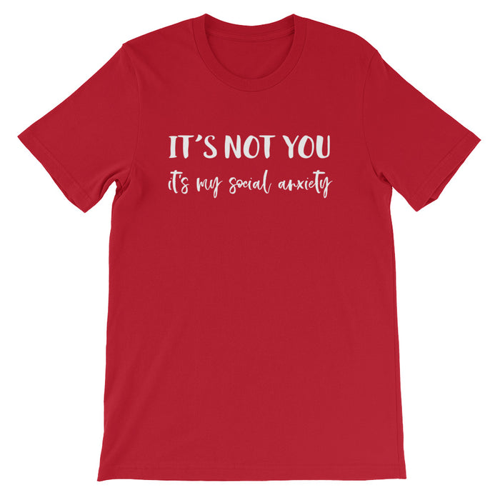 It's Not You Short-Sleeve T-Shirt