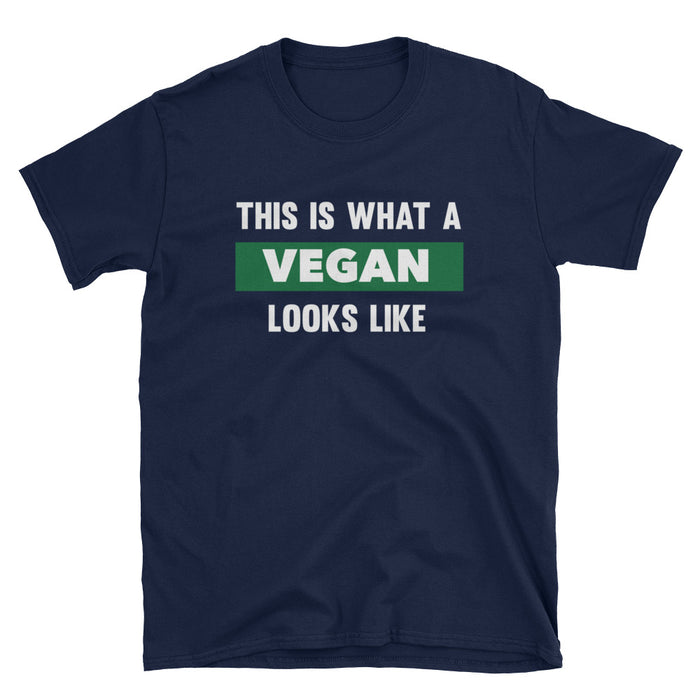 This Is What A Vegan Looks Like Short-Sleeve T-Shirt