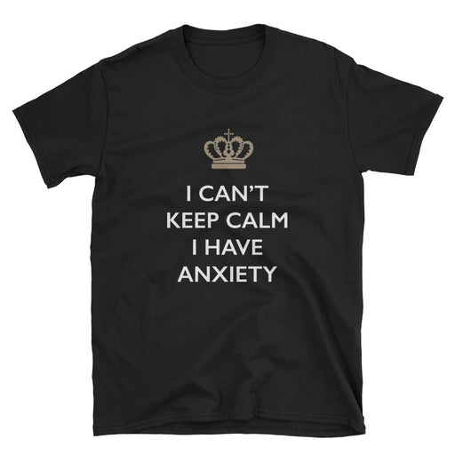 I Can't Keep Calm Short-Sleeve T-Shirt