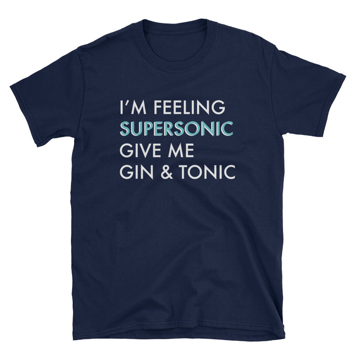 Supersonic Gin & Tonic Short-Sleeve T-Shirt