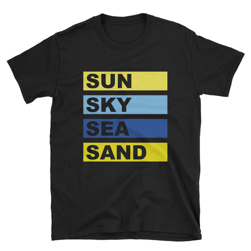 Sun Sky Sea Sand Short-Sleeve T-Shirt