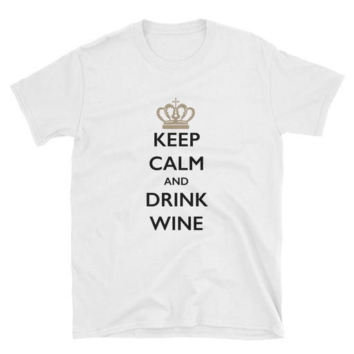 Keep Calm and Drink Wine Short-Sleeve T-Shirt
