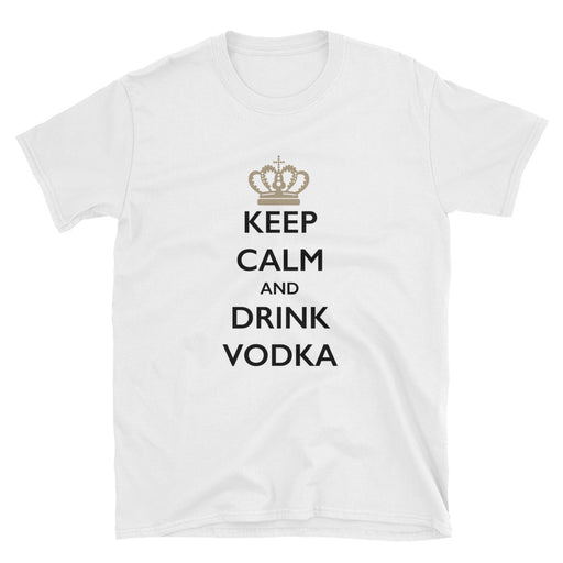 Keep Calm and Drink Vodka Short-Sleeve T-Shirt