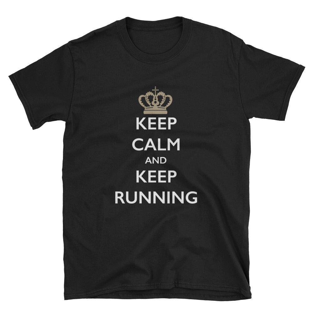 Keep Calm and Keep Running Short-Sleeve T-Shirt