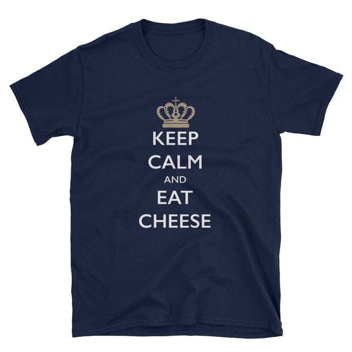 Keep Calm and Eat Cheese Short-Sleeve T-Shirt