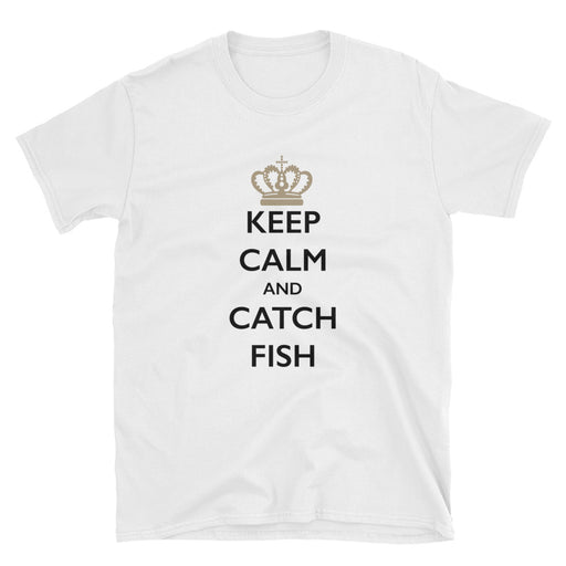 Keep Calm and Catch Fish Short-Sleeve T-Shirt