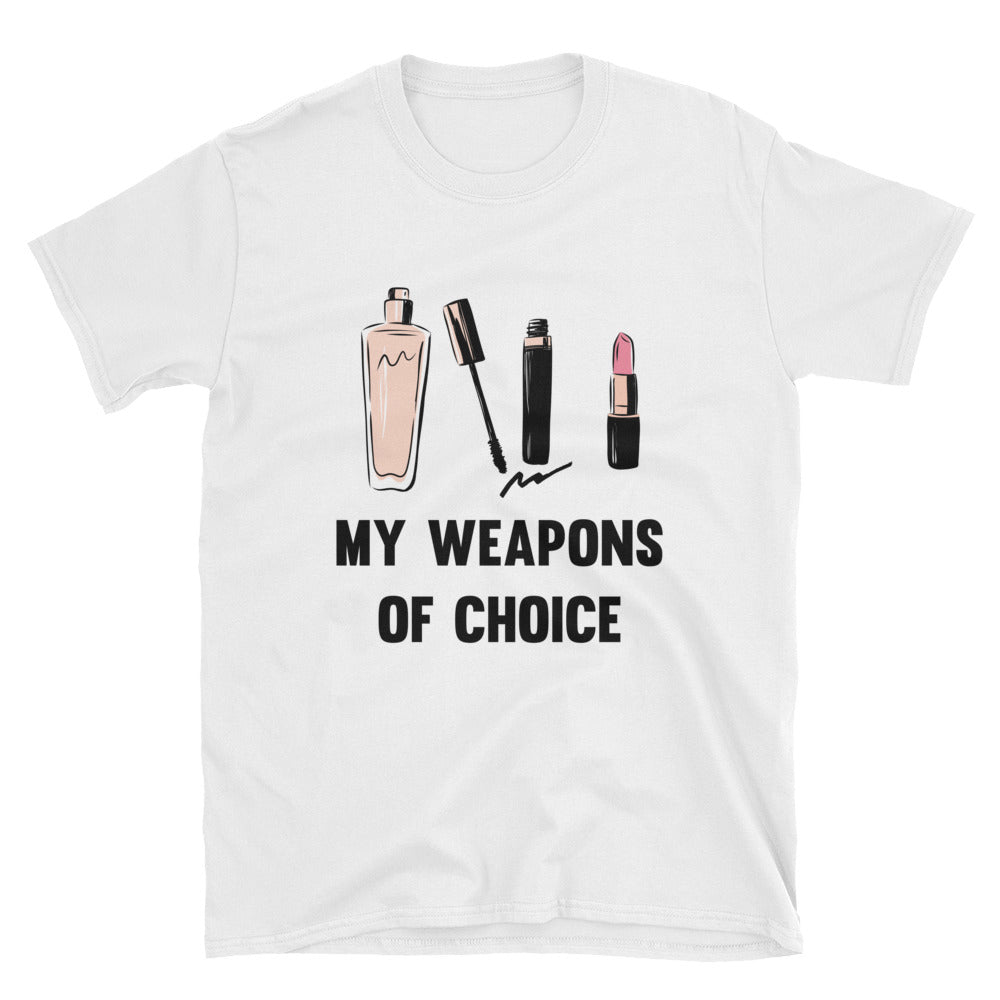 My Weapons of Choice Short-Sleeve T-Shirt Make up/ Beauty