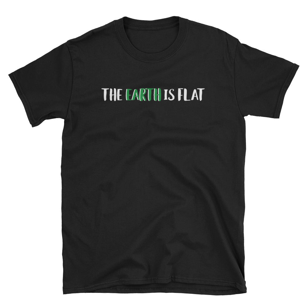 The Earth Is Flat Short-Sleeve T-Shirt
