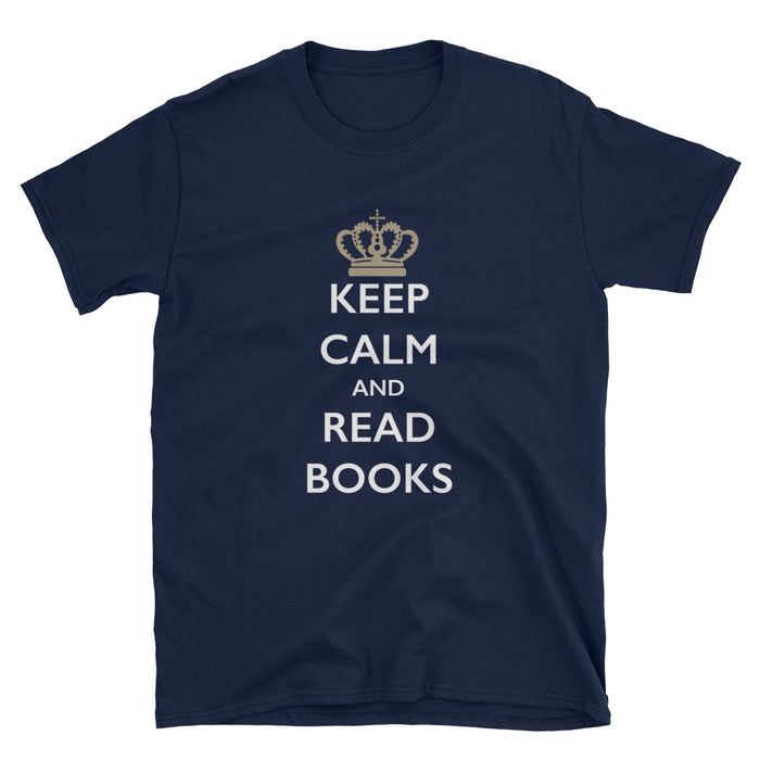 Keep Calm and Read Books Short-Sleeve T-Shirt