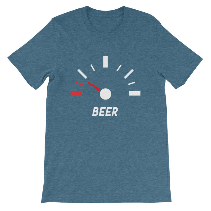 Low on Beer Short-Sleeve T-Shirt
