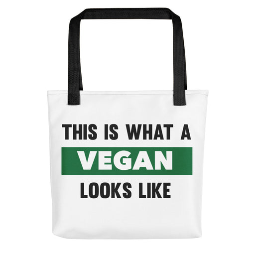 This is What A Vegan Looks Like Tote bag