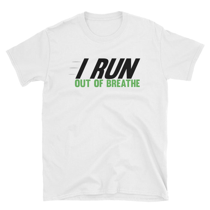 I Run Out Of Breathe Short-Sleeve T-Shirt Gym