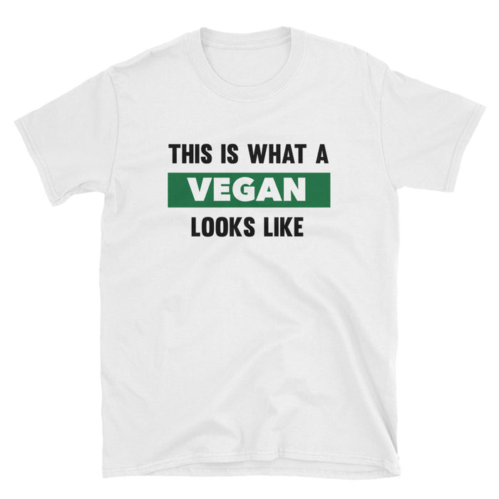 This Is What Vegan Looks Like Short Sleeve T-Shirt