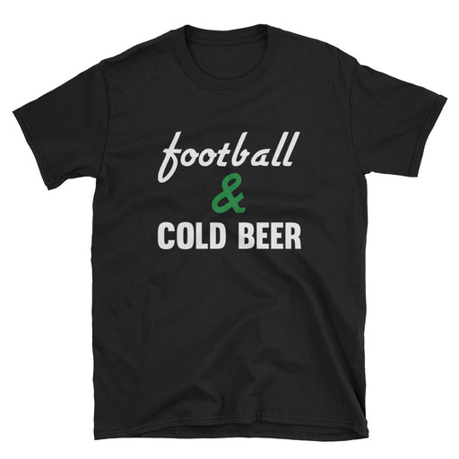 Football & Cold Beer Short-Sleeve T-Shirt