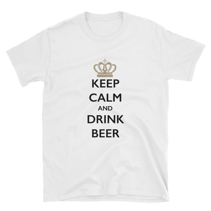 Keep Calm and Drink Beer Short-Sleeve T-Shirt