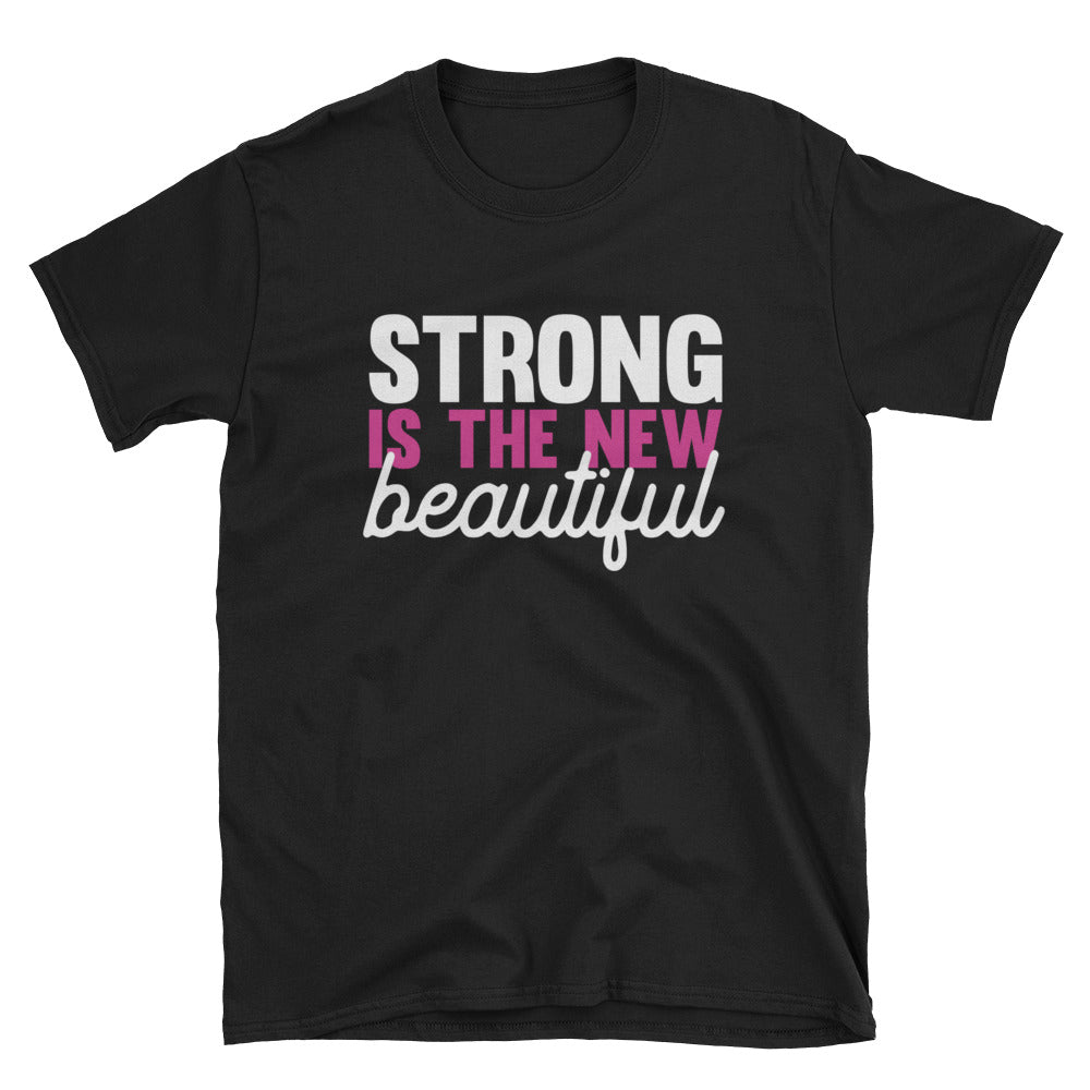 Strong Is The New Beautiful Short-Sleeve T-Shirt Gym