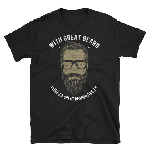With Great Beard Short-Sleeve T-Shirt