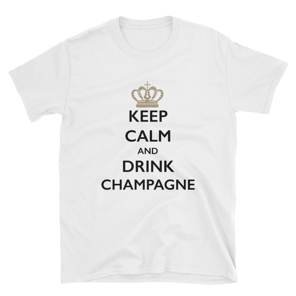 Keep Calm and Drink Champagne Short-Sleeve T-Shirt