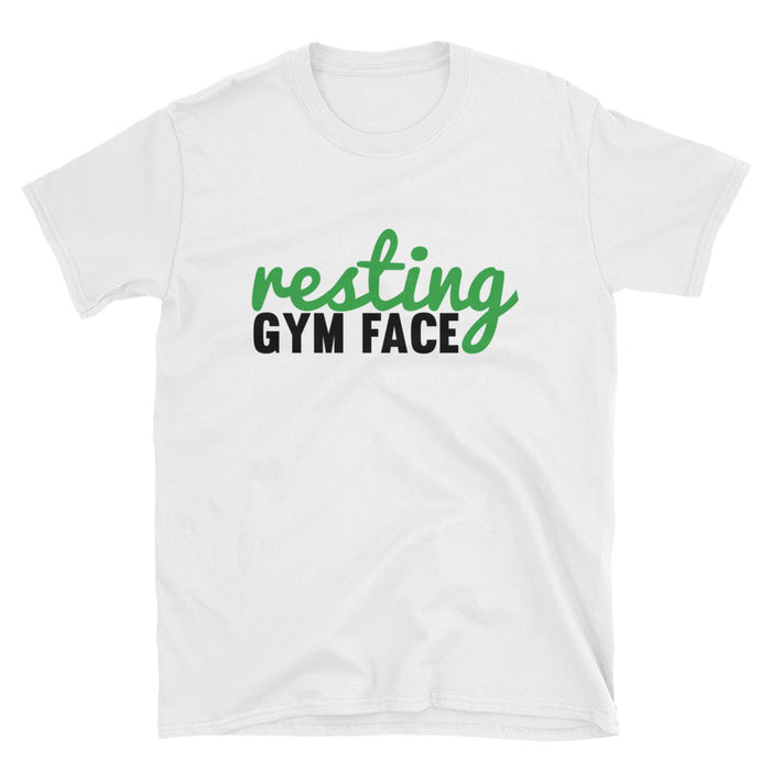 Resting Gym Face Short-Sleeve T-Shirt