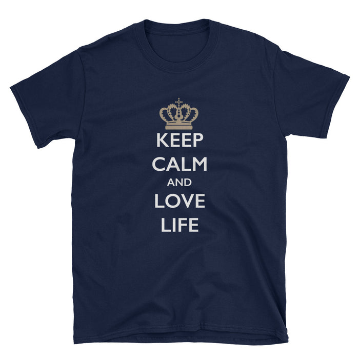 Keep Calm and Love Life Short-Sleeve T-Shirt