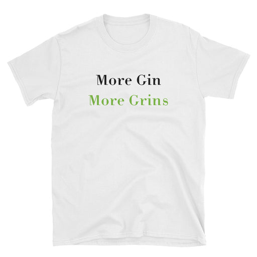 More Gin Short-Sleeve T-Shirt