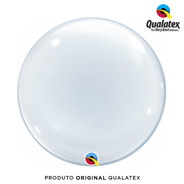Balão Bolha Transparente 60cm - Qualatex