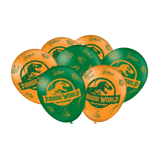 Balão Estampado Jurassic World 2 c/25 - Festcolor