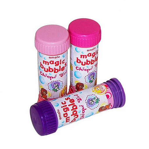 Bolha de Sabão Magic Bubbles Chiqui Girl 56ml - Amalu