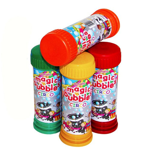 Bolha de Sabão Magic Bubbles Circo 56ml - Amalu