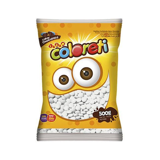 Coloreti Mini Branco 500g - Jazam