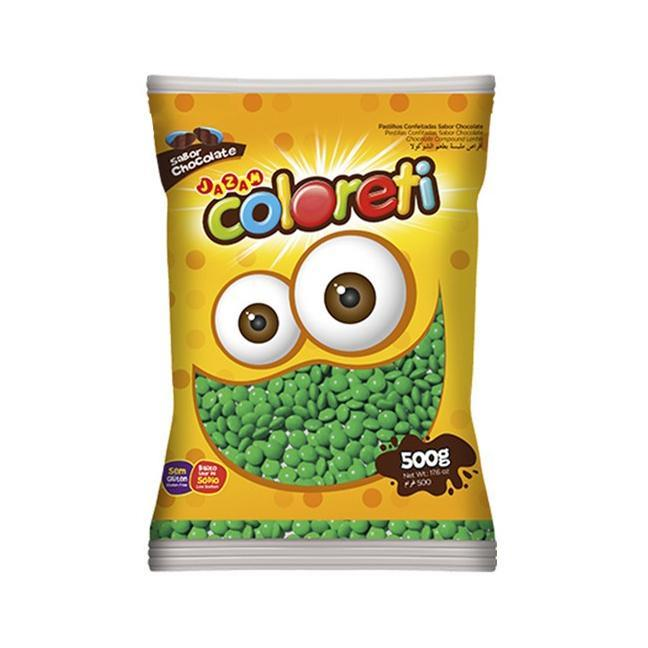 Coloreti Mini Verde 500g - Jazam