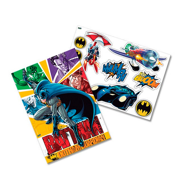 Kit Decorativo 2 Laminas Batman - Festcolor