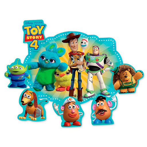 Kit Decorativo 2 Laminas Toy Story 4 - Regina Festas