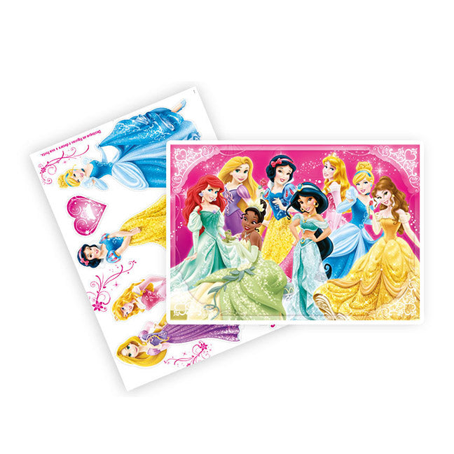 Kit Decorativo 2 Laminas Princesas Disney - Regina Festas