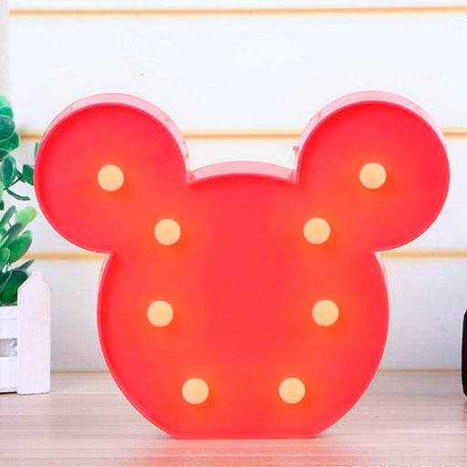 Luminoso Mickey 3D LED