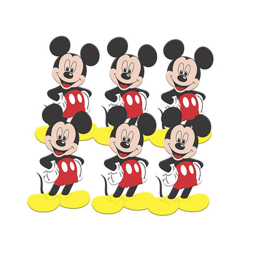 Mini Personagem Mickey c/5 - Piffer