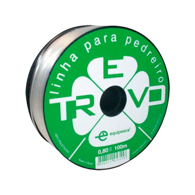 Nylon 0,8mm Transparente 100m - Trevo