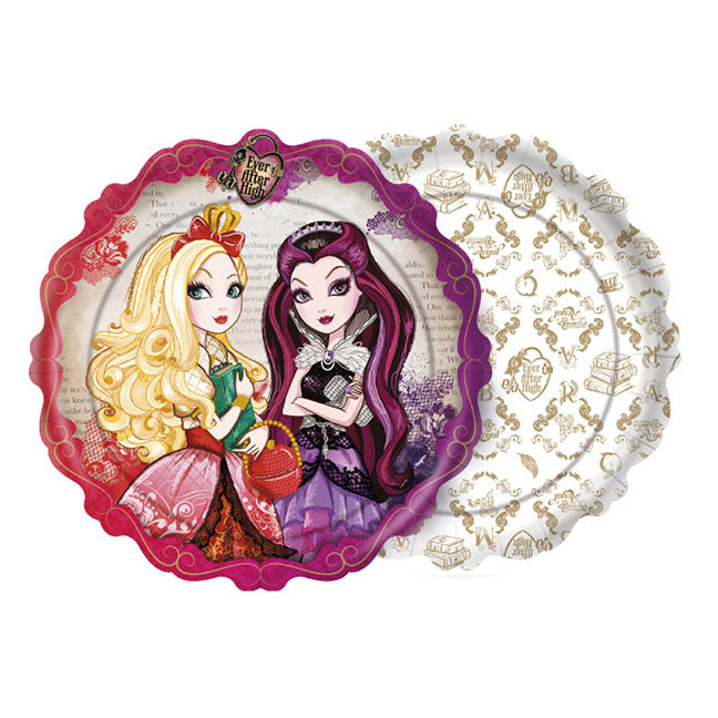 Prato Ever After High c/8 - Regina Festas