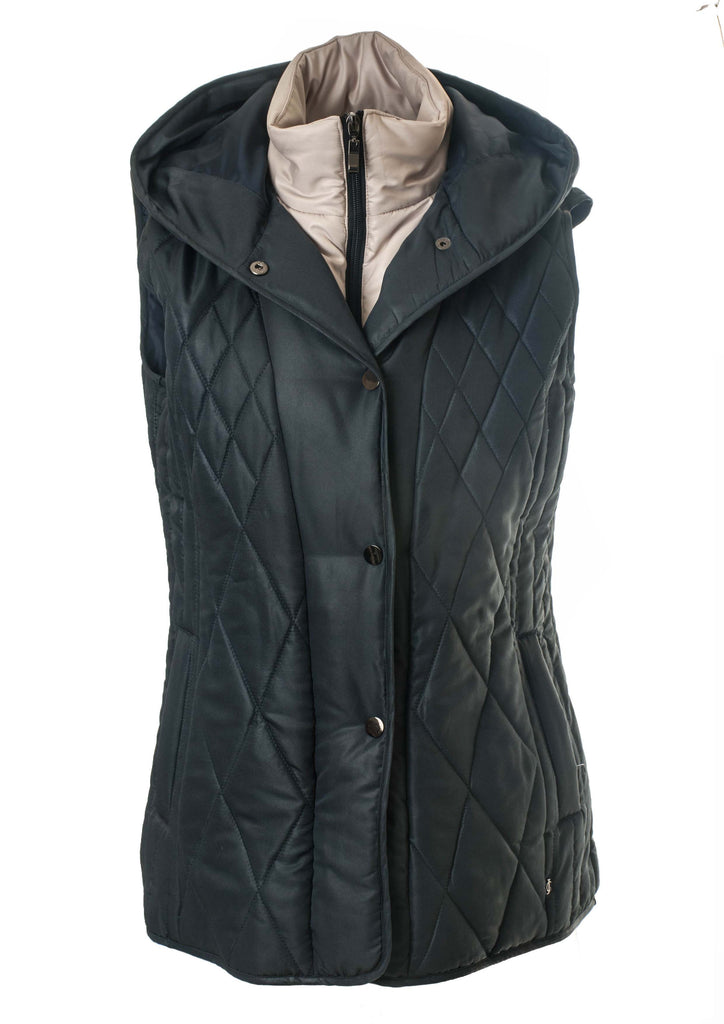 DOUBLE LAYER PADDED GILET