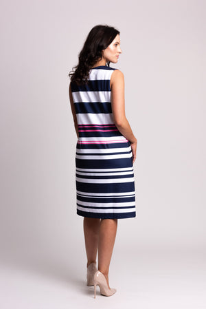 Placement Stripe Dress
