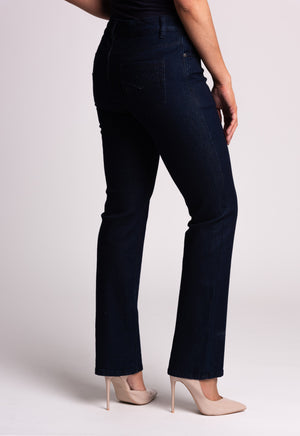 JEANS WITH DIAMANTE DETAIL
