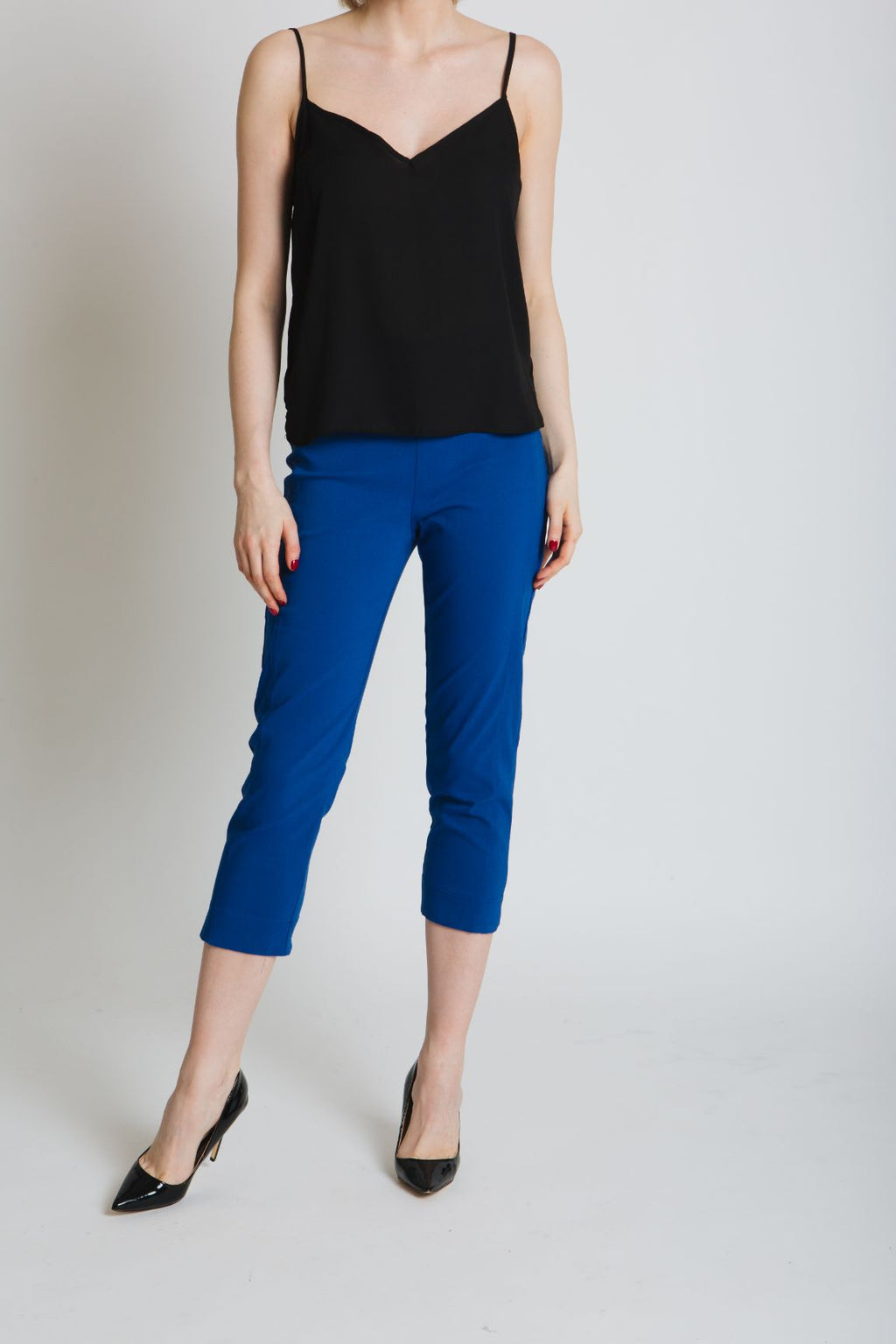 Cropped Bengaline Trousers _ colours available